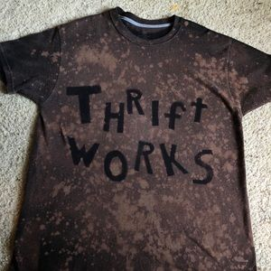 Thriftworks bleached tee